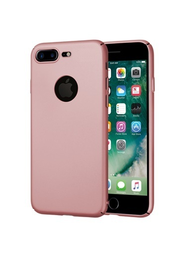 Microsonic iPhone 8 Plus Kılıf Premium Slim  Renkli